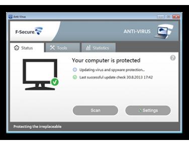 Virus scanner F-Secure